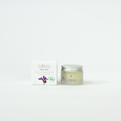Rêve d'iris - Baume de nuit visage - LCBIO - MADE IN FRANCE