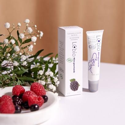 Mûre gourmande - Hydratation et beauté des lèvres - LCBIO - MADE IN FRANCE